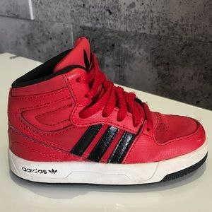 Adidas high top boys shoes size US 8K